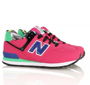 new balance kinder lila