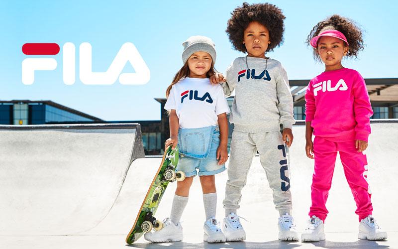 Kids Style Lounge | Fila | Kindermode online kaufen