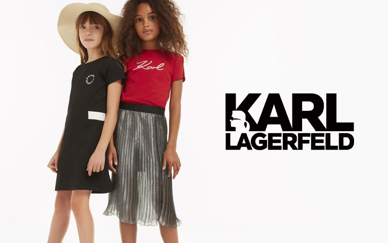 Kids Style Lounge Karl Lagerfeld High Fashion Online For Kids