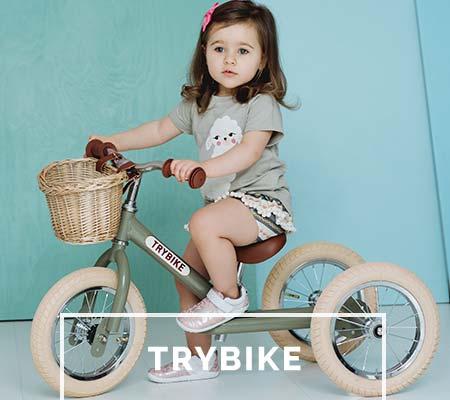Trybike Dreirad und Laufrad