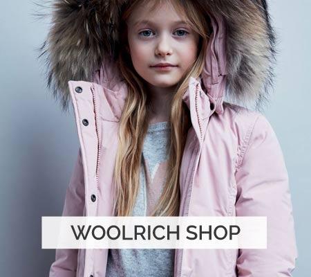 Woolrich Kinderjacken Shop für Girls und Boys