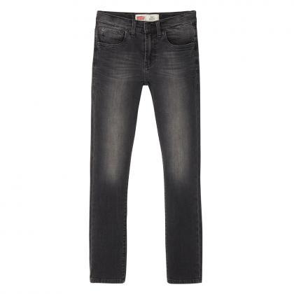 Levi's Skinny jeans 510 in schwarz