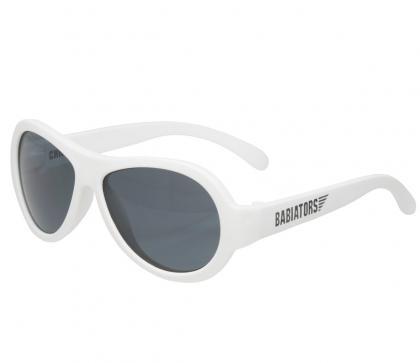 Babiators Aviator Sunglasses in Wicked White