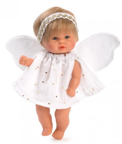 Asi Dolls Bomboncin guardian angel, 20 cm - white