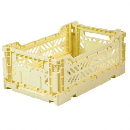 Ay-Kasa stabelbare Klappbox Mini, 27x17x10,5 -  Cream