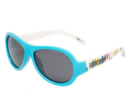 Babiators Polarized Sonnenbrille Surfs Up in blau-weiss
