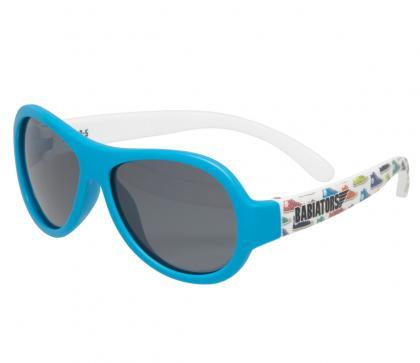 Babiators Polarized Sonnenbrille feelin Sneaky in blau-weiss