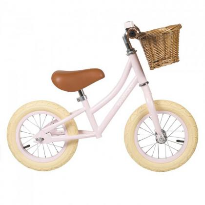 Banwood kids balance bike First Go! - pink