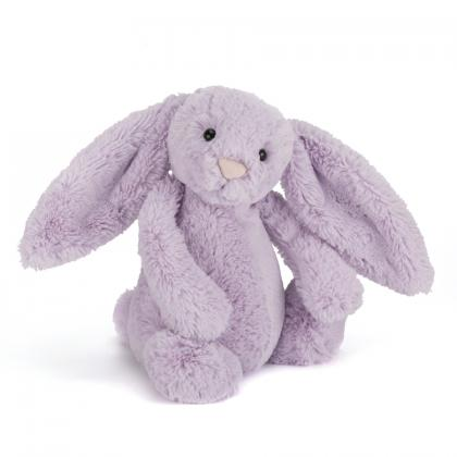 Jellycat Bashful Hyacinth Bunny in flieder (S-M)
