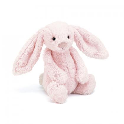 Jellycat Bashful Tulip Bunny in rosa (XS-XXL)