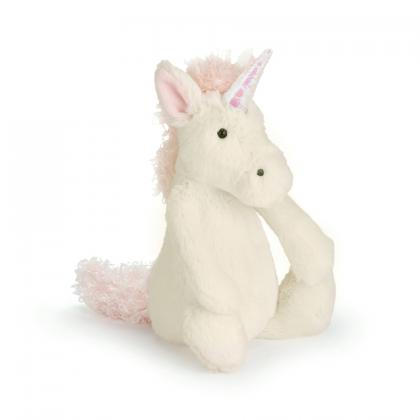 Jellycat Bashful Unicorn in naturweiss (S-XXL)