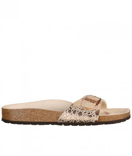 Birkenstock Sandale Madrid Metallic Stones Copper - gold