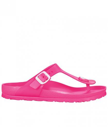 Birkenstock Wassersandale Gizeh EVA - neon pink