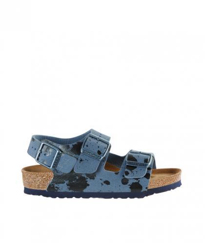 Birkenstock sandal Milano Kids Colour Spray in blue