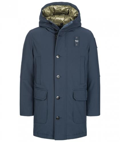 Blauer USA Daunenparka in navy