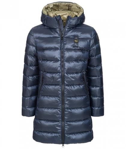 Blauer USA Daunenmantel in navy