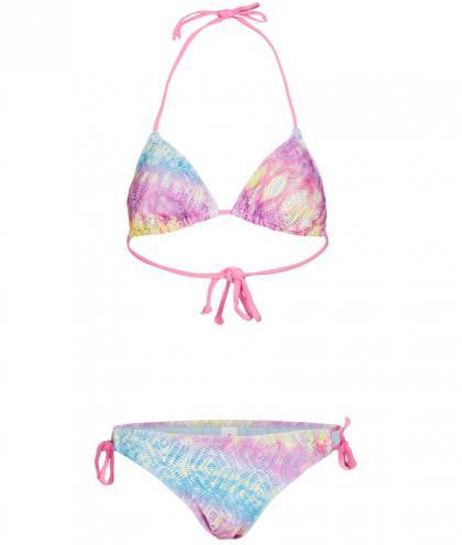 Bora Bora Damen Neckholder-Bikini Papaya 23 in bunt