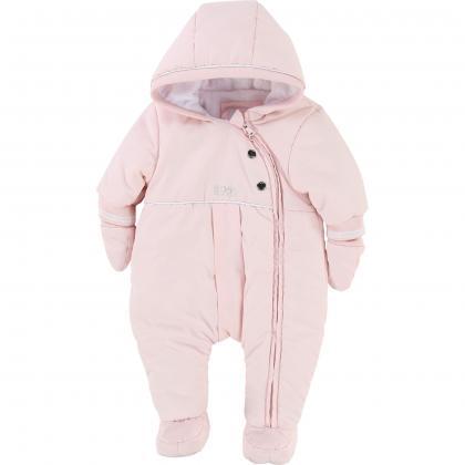 Boss baby snowsuit in rose