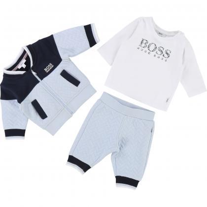 Boss Baby Jogging-Set in hellblau
