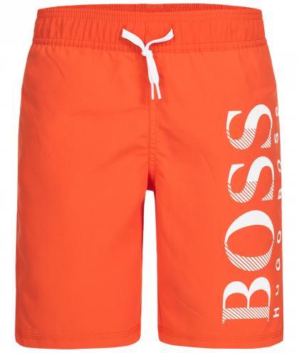 Boss Bade-Shorts in orange