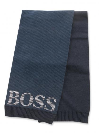 Hugo Boss Wollschal in marine