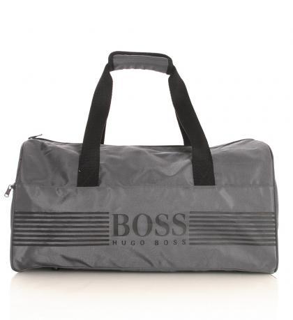 Hugo Boss Sporttasche in dunkelgrau