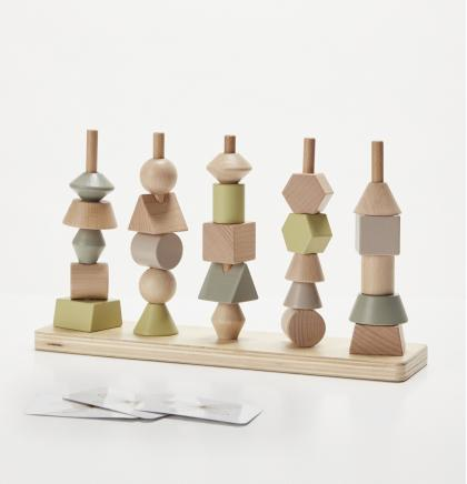 By Astrup Holz Formen Steckturm - natur