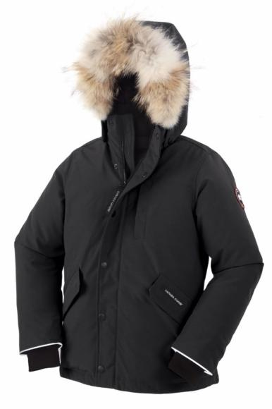 Canada Goose Youth Logan Parka in schwarz