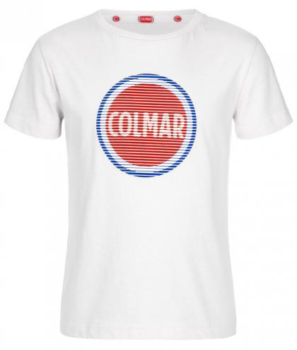 Colmar Logo Shirt Just - weiß