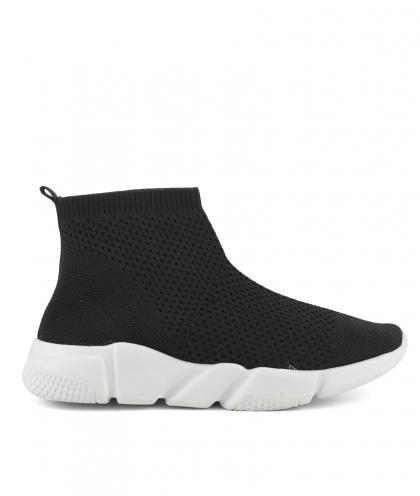 Colors of California Textil High Sneaker - schwarz