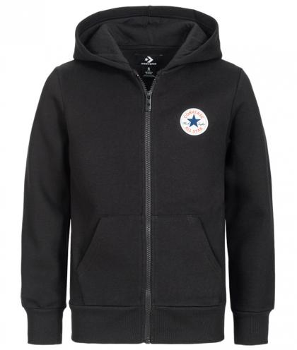 Converse Fleece Chuck Patch Zip Hoodie - schwarz