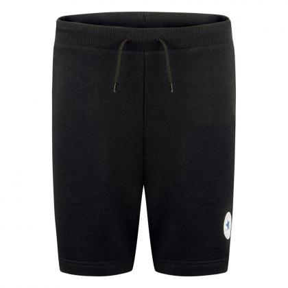 Converse Printed Chuck Patch Sweat shorts - black
