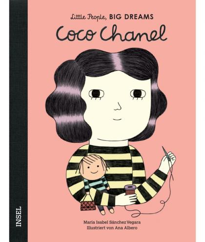 Little People, BIG DREAMS Coco Chanel Kinderbuch - multi