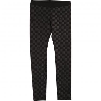 DKNY Leggings mit Allover Print - schwarz