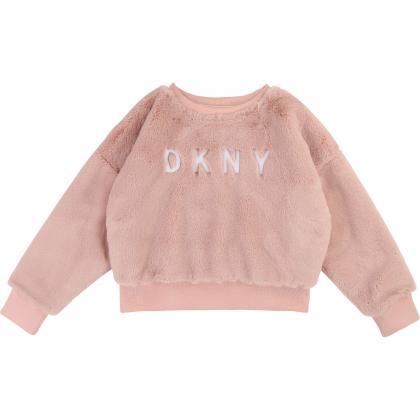 DKNY Fell Sweatshirt - rosa