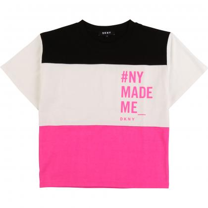 DKNY Colour Block Shirt - weiß