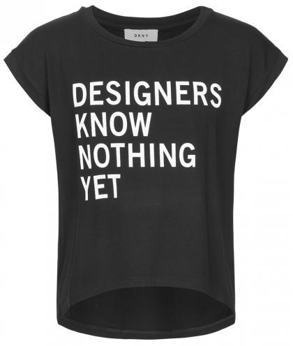 DKNY Oversize-Shirt in schwarz