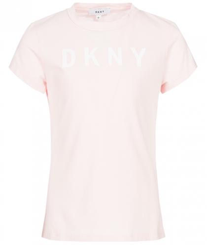DKNY Basic Shirt in hellrosa