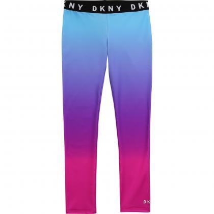 DKNY Sport Leggings -  pink/hellblau