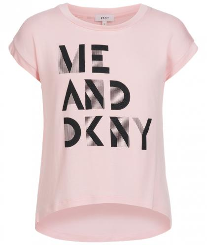 DKNY Top in rosa
