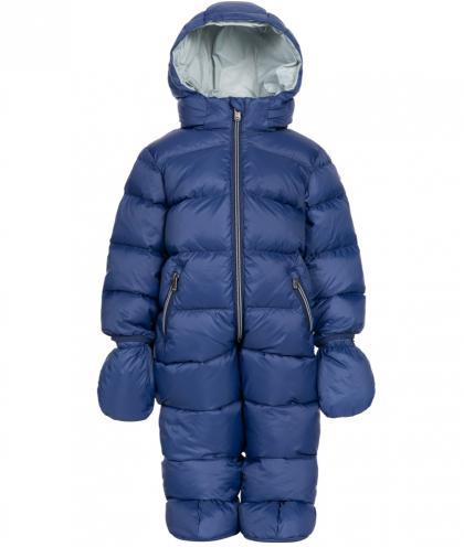 Eddie Pen Mellow baby snowsuit in navy