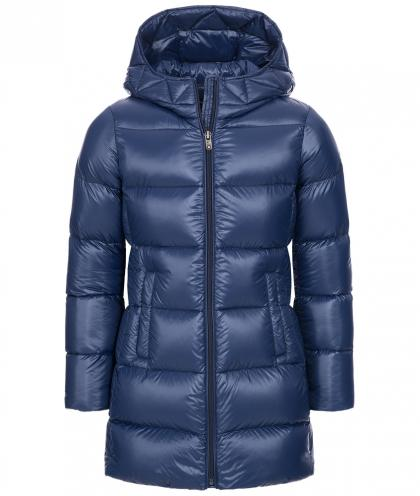 Eddie Pen Willow Daunenparka in blau