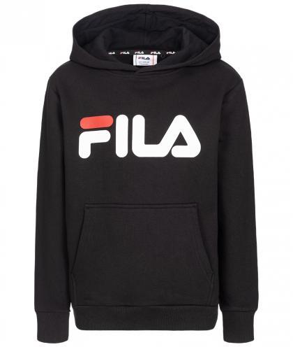 FILA Classic Logo Hoodie Unisex - schwarz