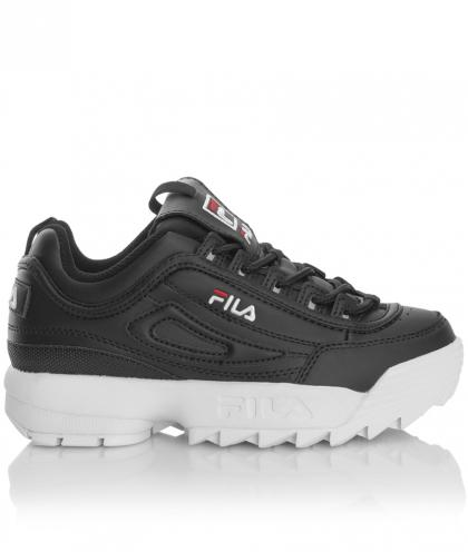 FILA Heritage Disruptor Kids Sneaker with platform - black