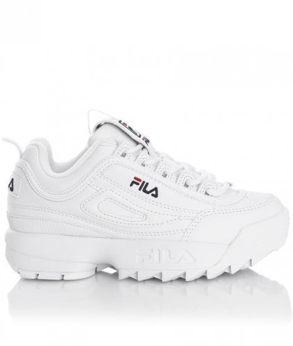 FILA Heritage Disruptor Kids Sneaker mit Plateau - weiß