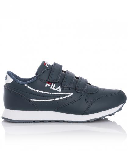FILA Heritage Orbit Junior Sneaker mit Klett - navy