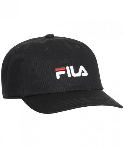 FILA Panel Cap mit Logo Unisex - schwarz