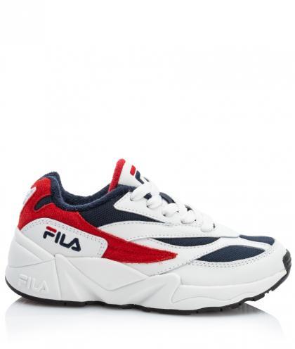 FILA Heritage Kids V94M Plateau Sneaker - white