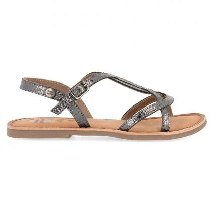 Gioseppo sparkles leather sandal Cinisello - anthracite