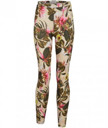 Guess Legging mit Allover Print in oliv